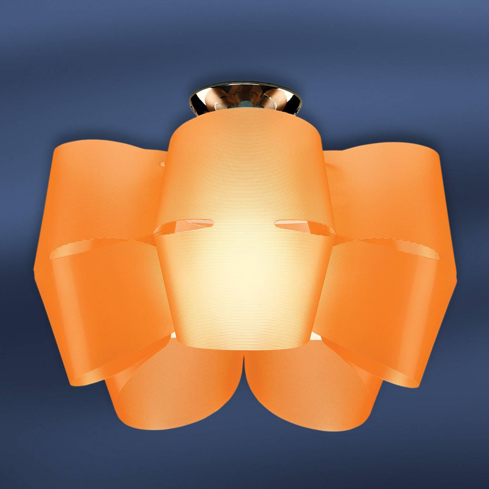 Deckenleuchte Sky Mini Alien orange