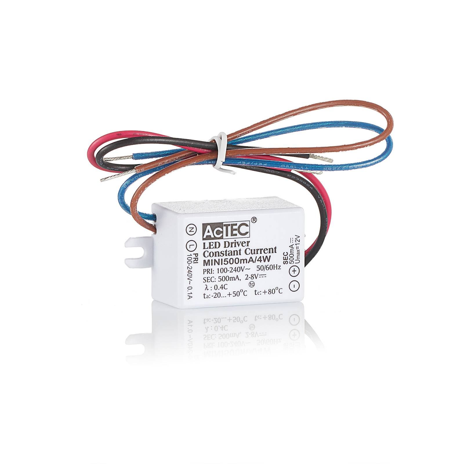 Bilde av Actec Mini Led-driver Cc 500 Ma, 4 W, Ip65