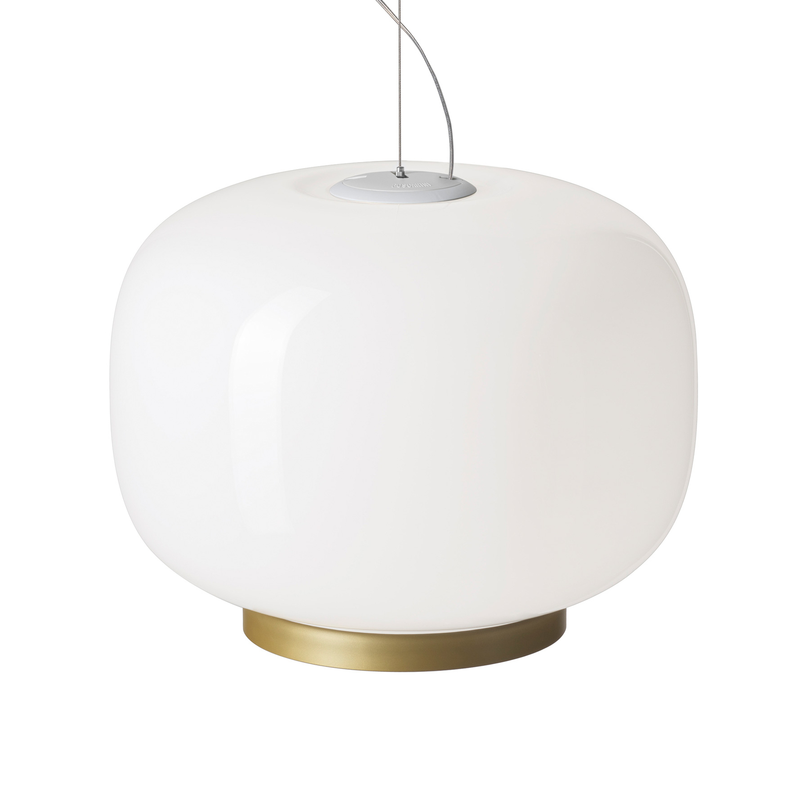 Foscarini Chouchin Reverse 1 E27 LED gold/weiß