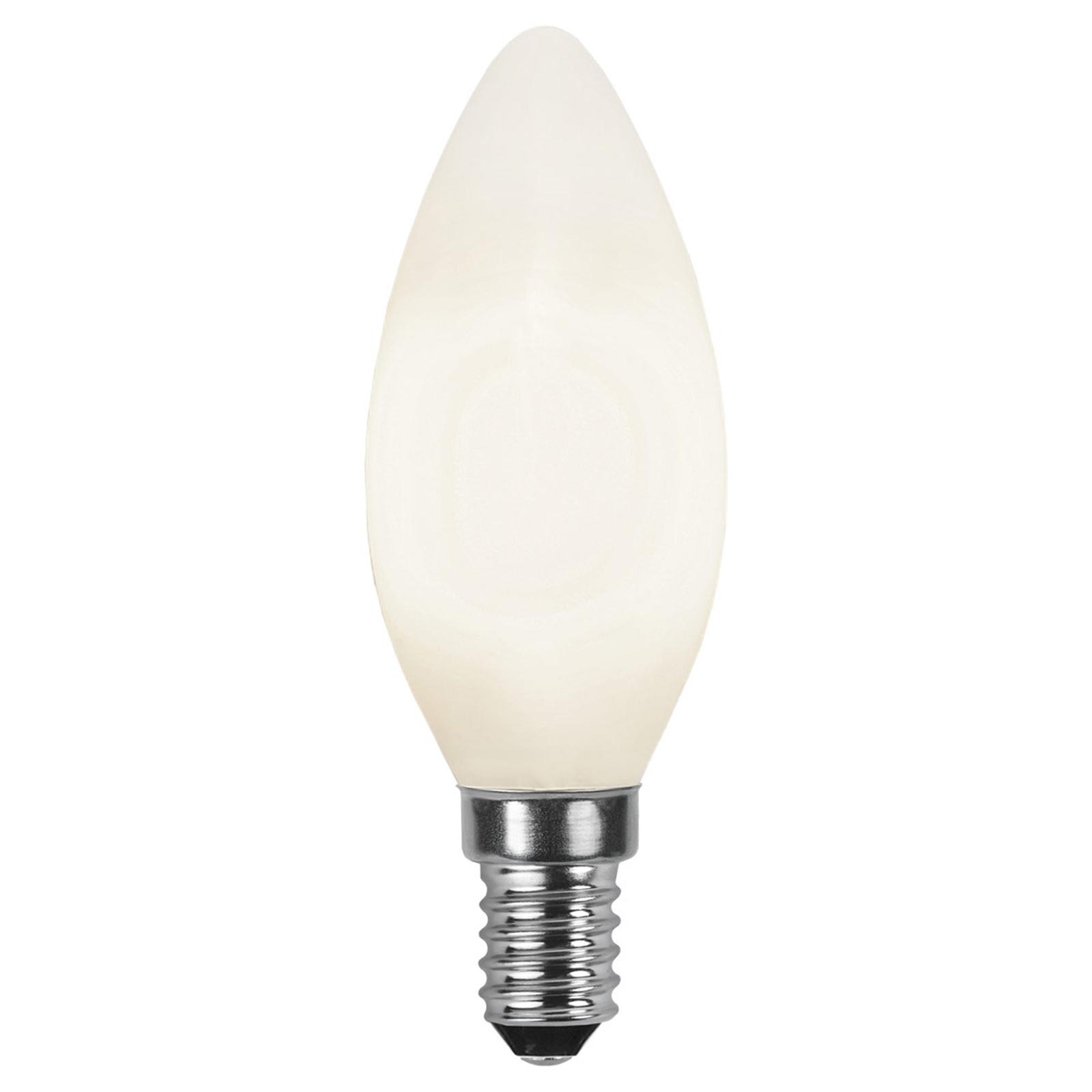 LED-Kerzenlampe E14 2.700K opal Ra90 3W