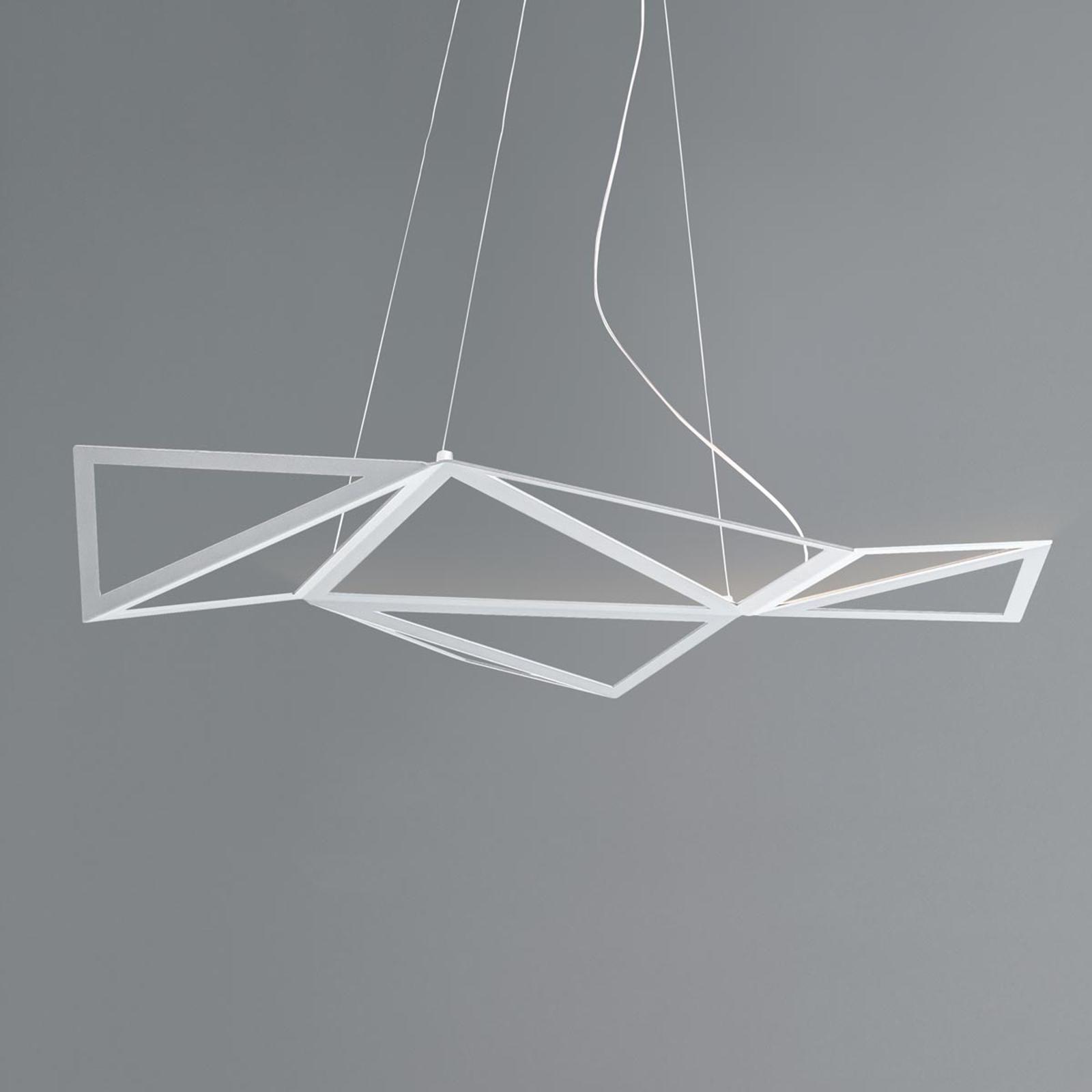 LED-Pendelleuchte Starlight in Weiß