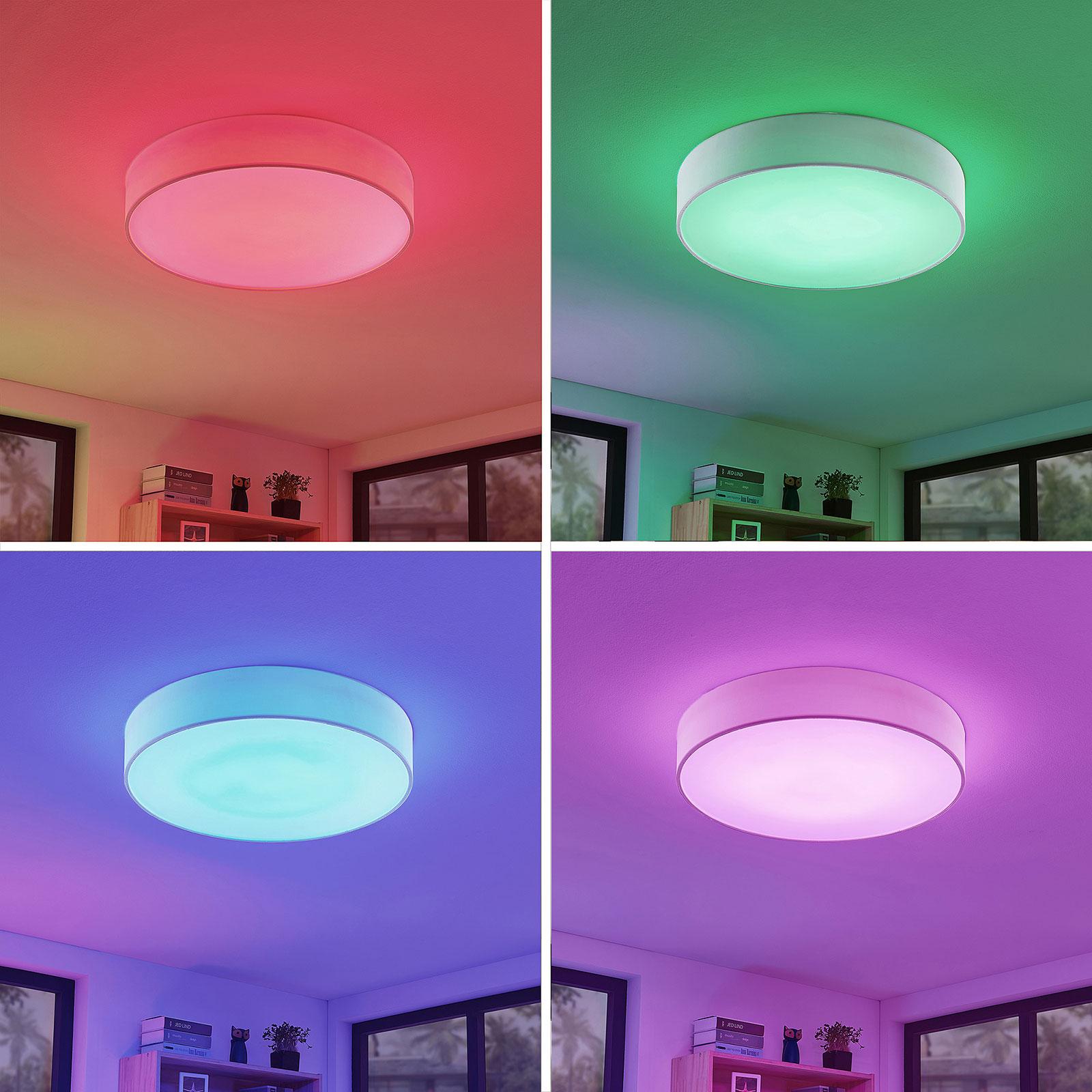 LED RGB Taklampe Ajai, 3 000 5 000K, WiZ, 60 cm