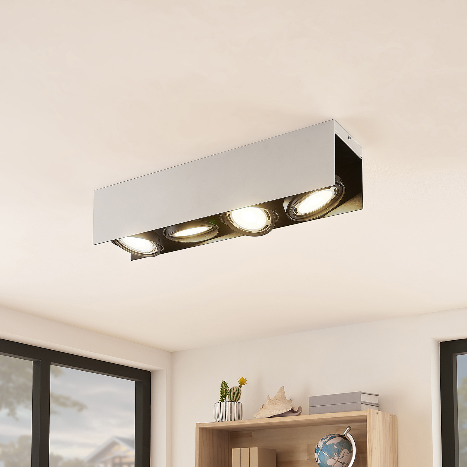 Arcchio Ocula LED plafondspot GU10, 4-lamps