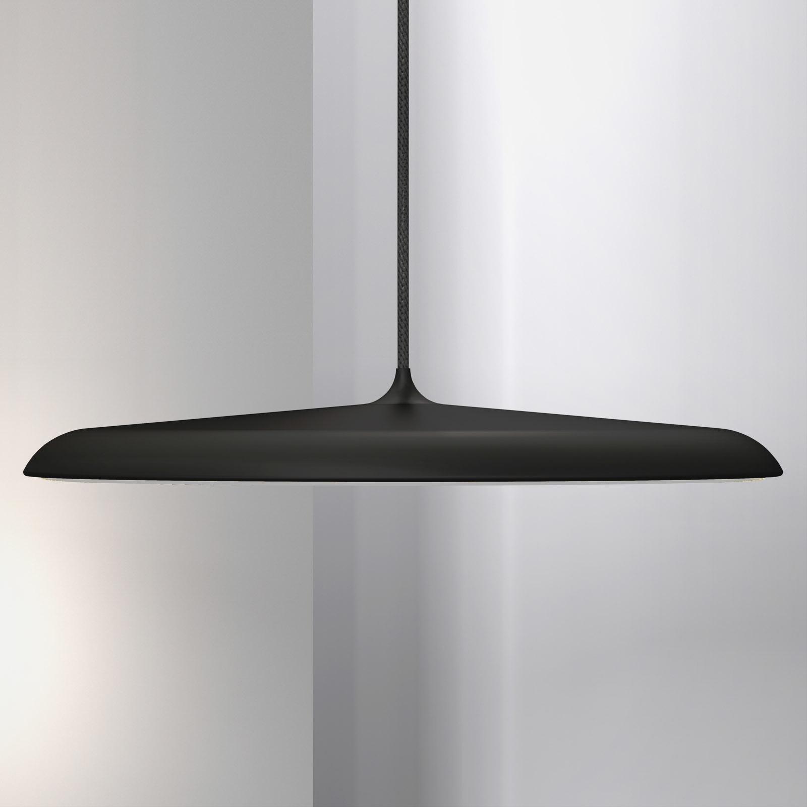 Lampa wisząca LED Artist, Ø 40 cm, czarna