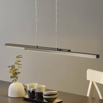EGLO connect Fraioli-C sospensione LED diritta