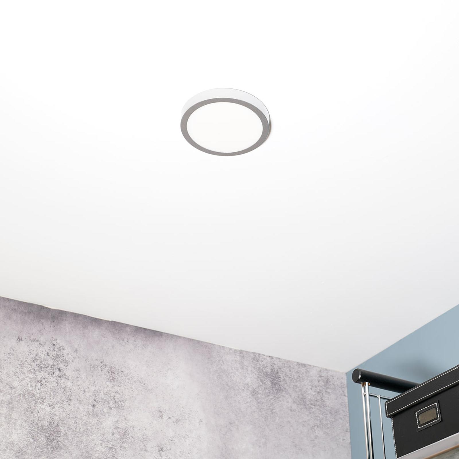 Plafonnier LED Vika extraplat, 18cm
