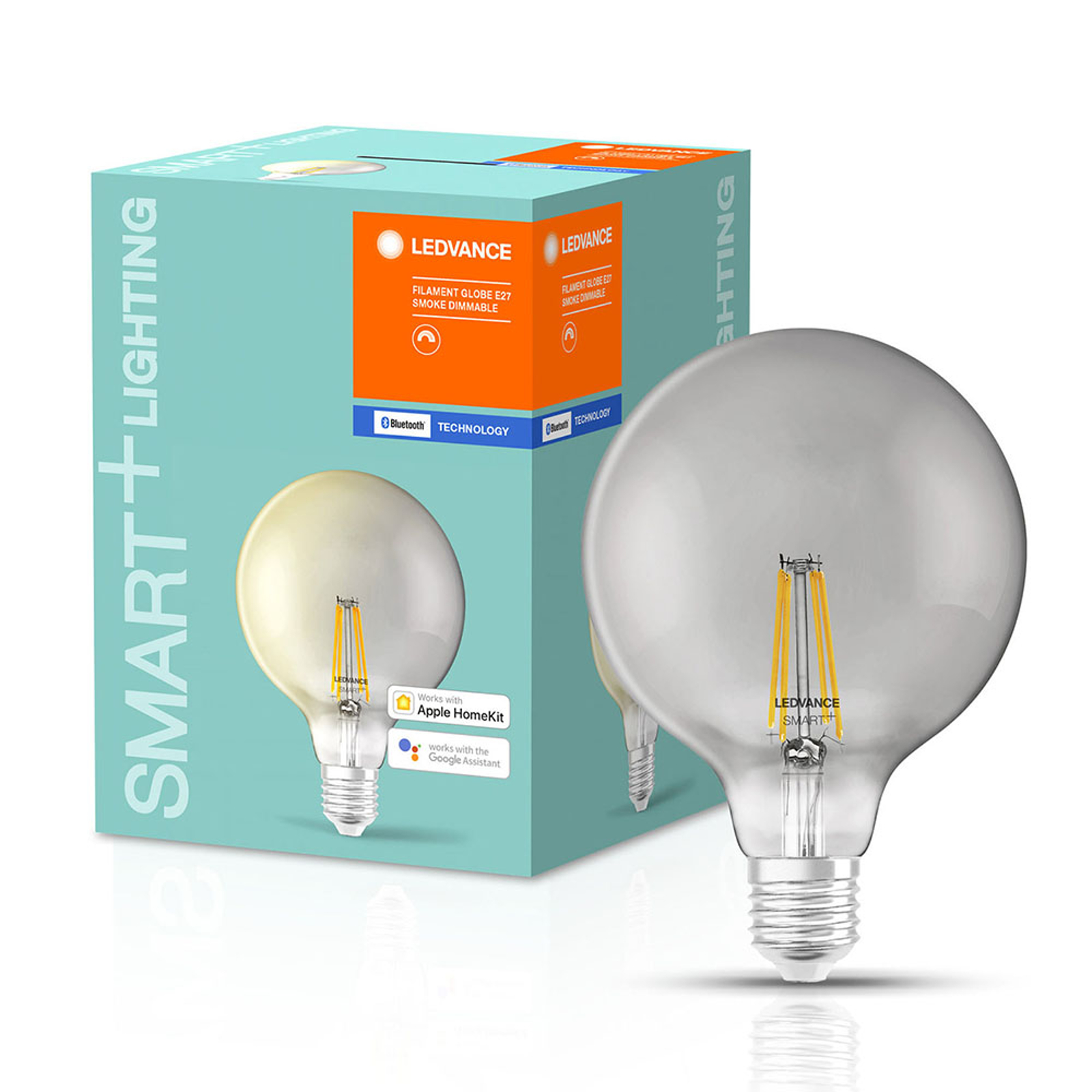 LEDVANCE SMART+ Bluetooth E27 G125 Smoke 6W 827