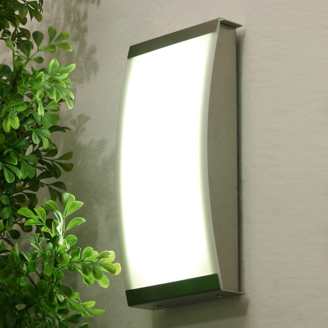 Trendige LED Außenwandleuchte LISET