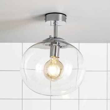 Łazienkowa lampa sufitowa Amy, przezroczysta
