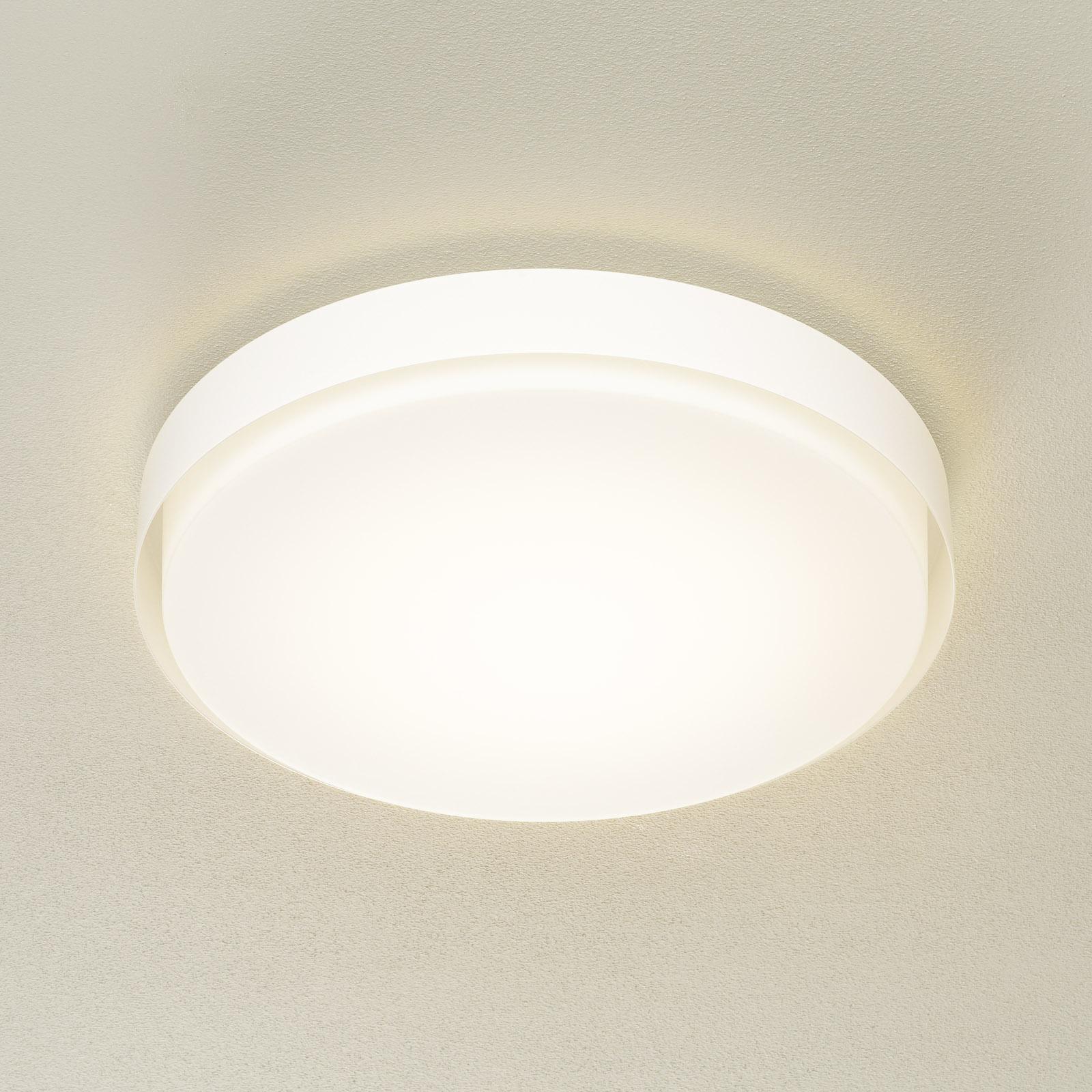 BEGA 12165 LED-kattovalaisin valk., Ø 50 cm, DALI