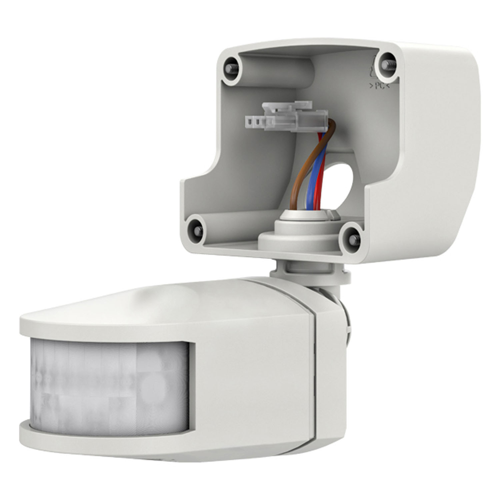 Theben theLeda B-sensor RC + fjernstyrt, hvit