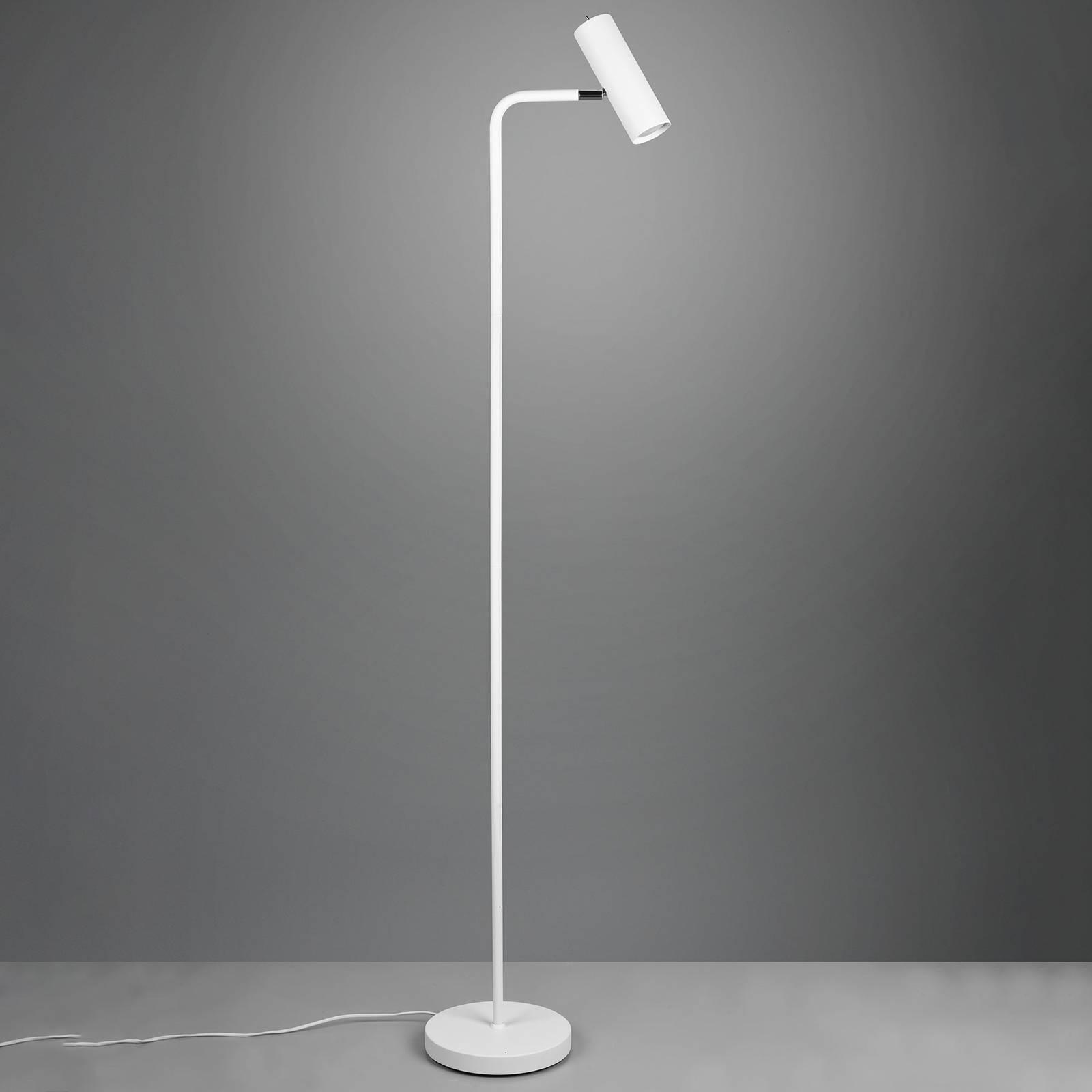 Vloerlamp Marley, mat wit