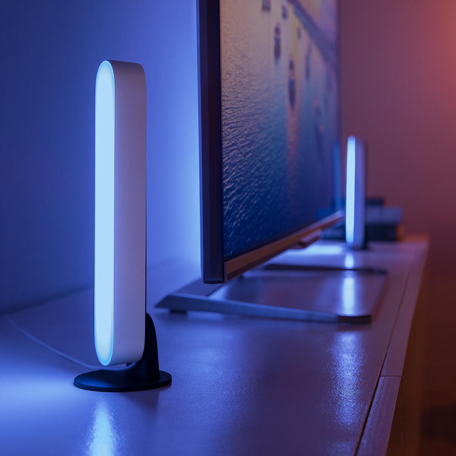 Philips Hue Play Lightbar Doppelpack, weiß