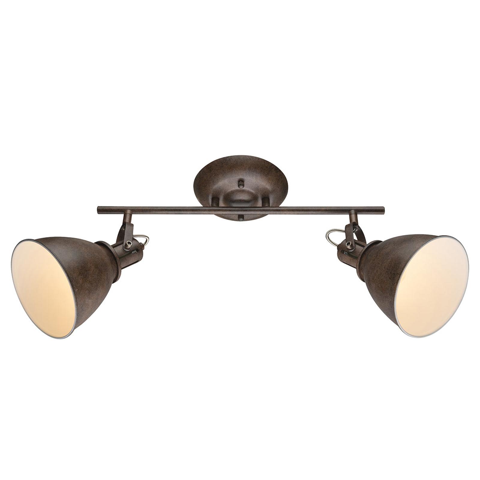 Reflektor sufitowy Giorgio, 2-punktowy