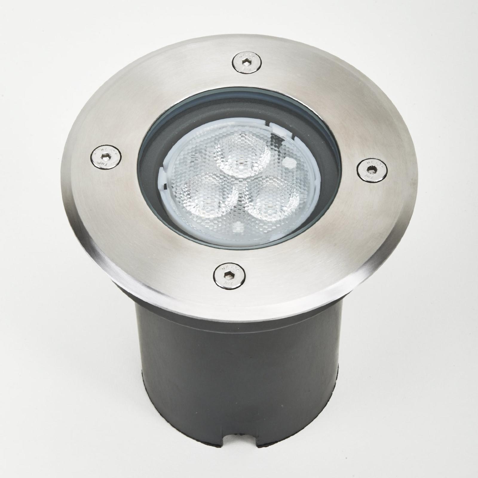 IP67 - LED-vloerinbouwlamp Ava, rond
