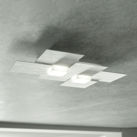 GROSSMANN Creo LED-taklampe 2 lys.