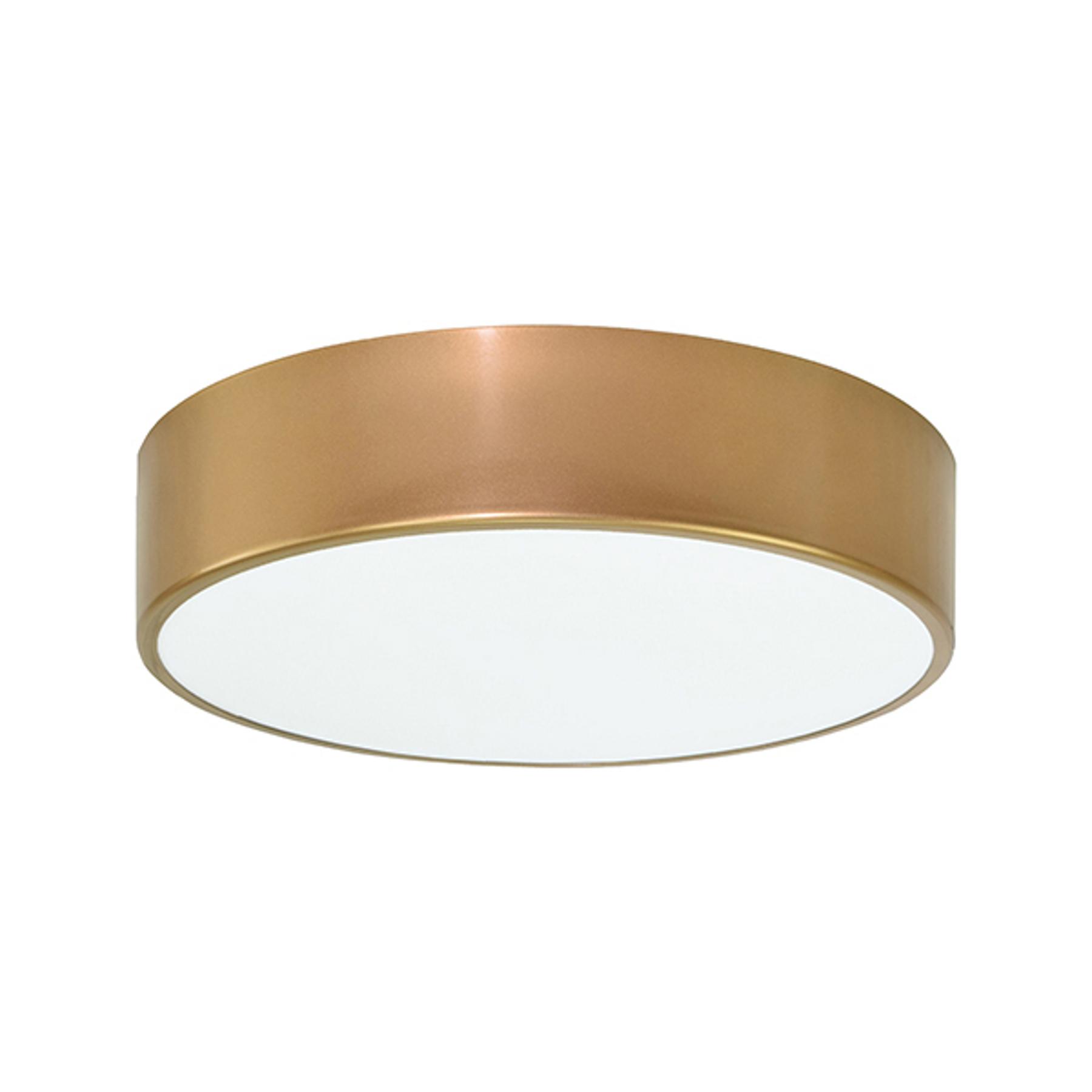 Lampa sufitowa Cleo, Ø 30 cm, złota