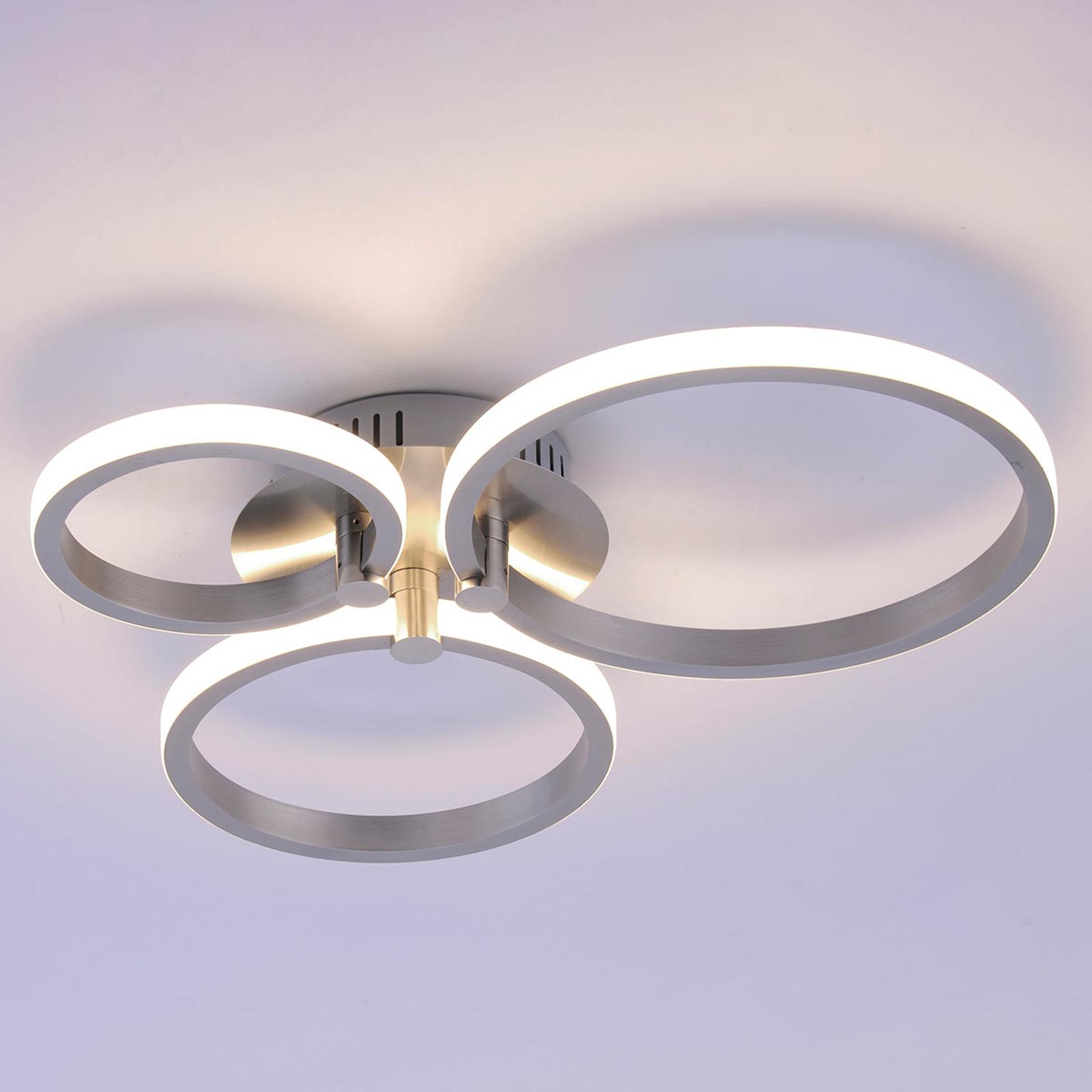 LED-taklampe Johanna 3 lys