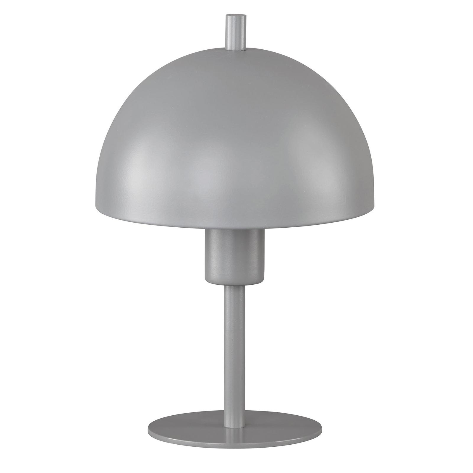 Schöner Wohnen Kia Tischleuchte grau Höhe 24 cm