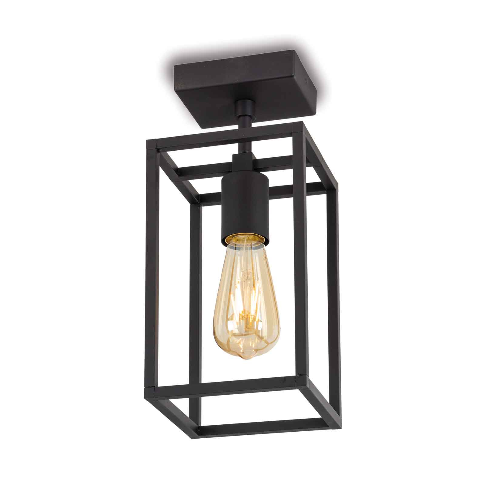 Plafondlamp Cubic³ 3391 zwart