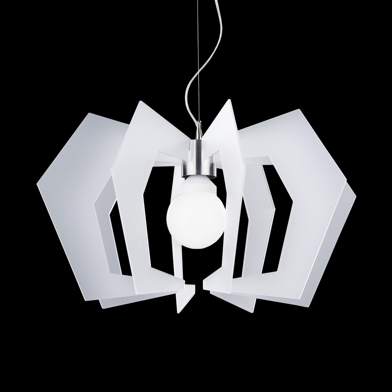 Innowacyjna designerska lampa wisząca Spider biała