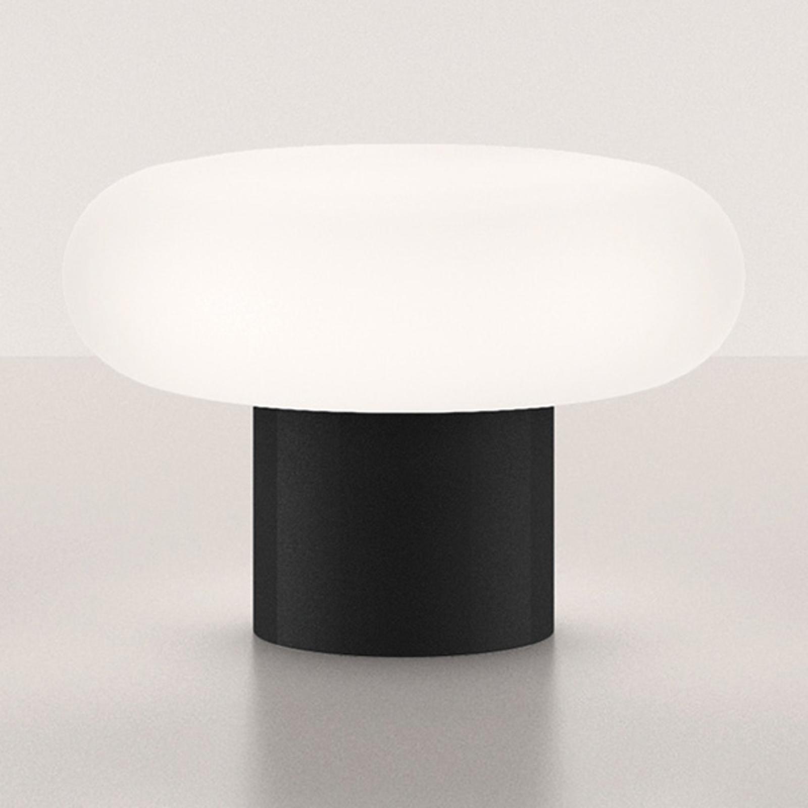 Artemide Itka stolní lampa keramická noha černá