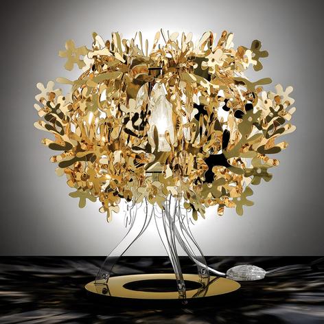 Slamp Fiorellina - goldene Tischleuchte
