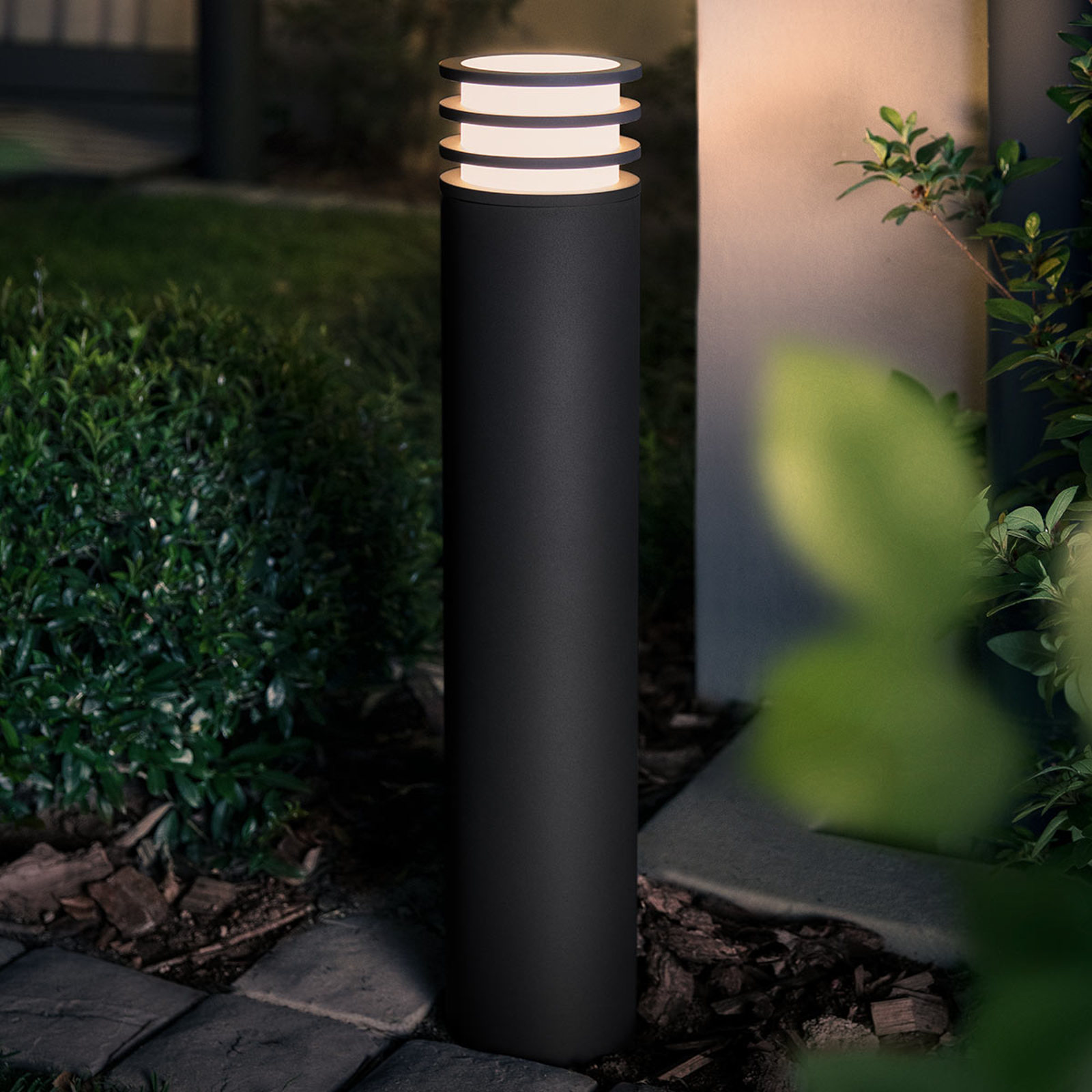 Philips Hue borne lumineuse LED Lucca, anthracite