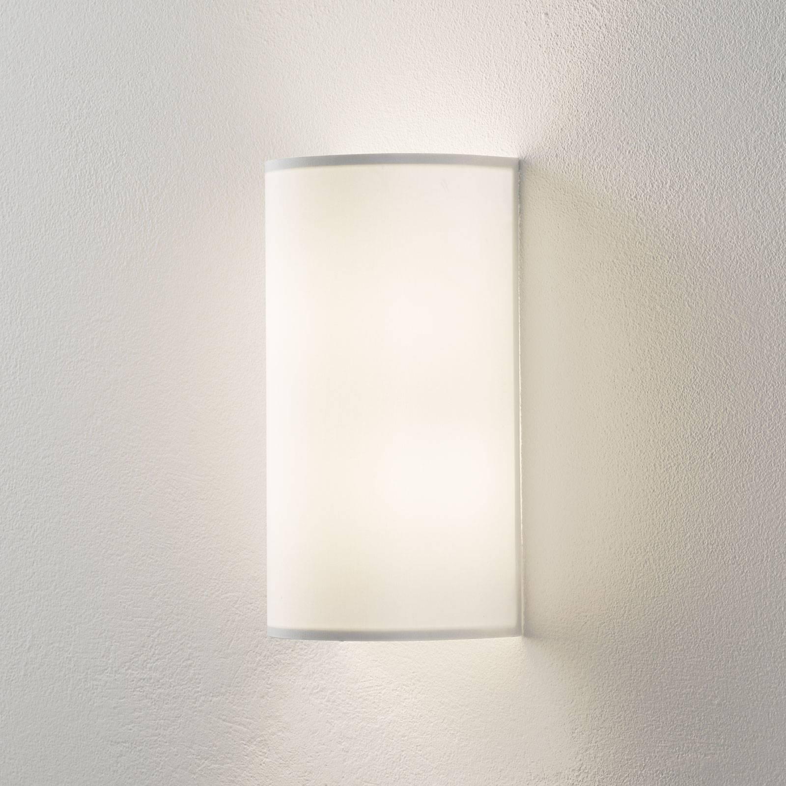 Lucande Patrik wandlamp halfrond 30cm wit