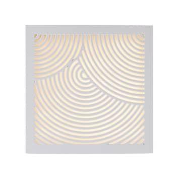 Kinkiet zewnętrzny LED Maze Bended biały