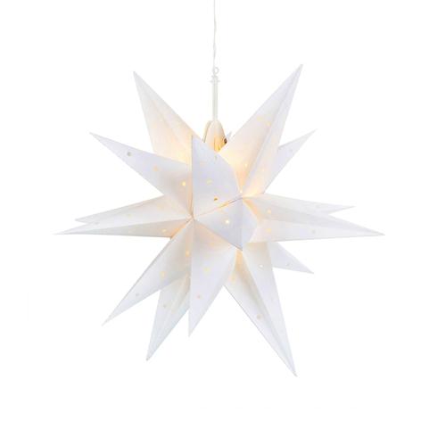 Estrella LED Vectra 3D para exterior