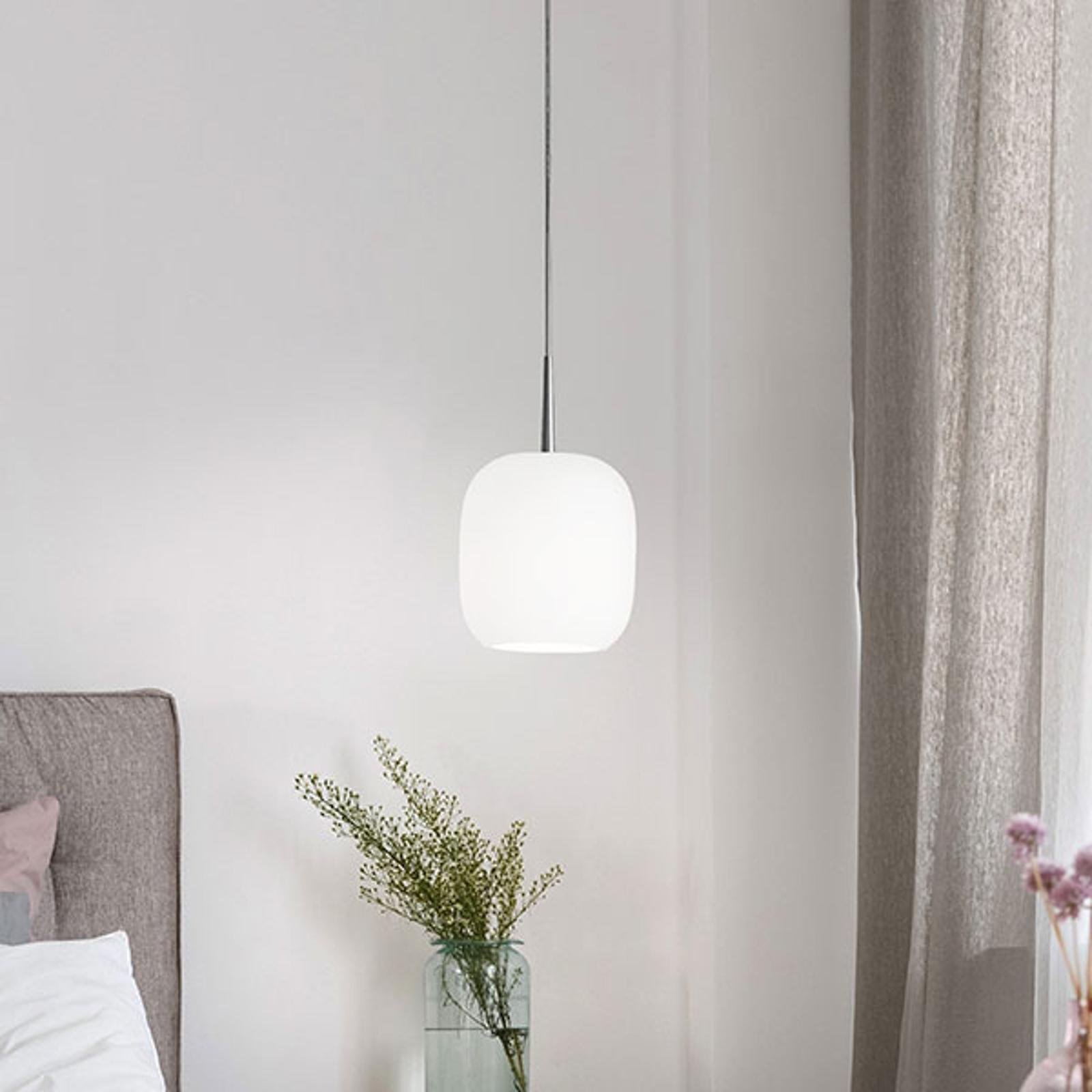 Casablanca Murea szklana lampa wisząca na kablu