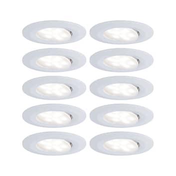 Paulmann LED-Einbauspot Calla 10er dimmbar