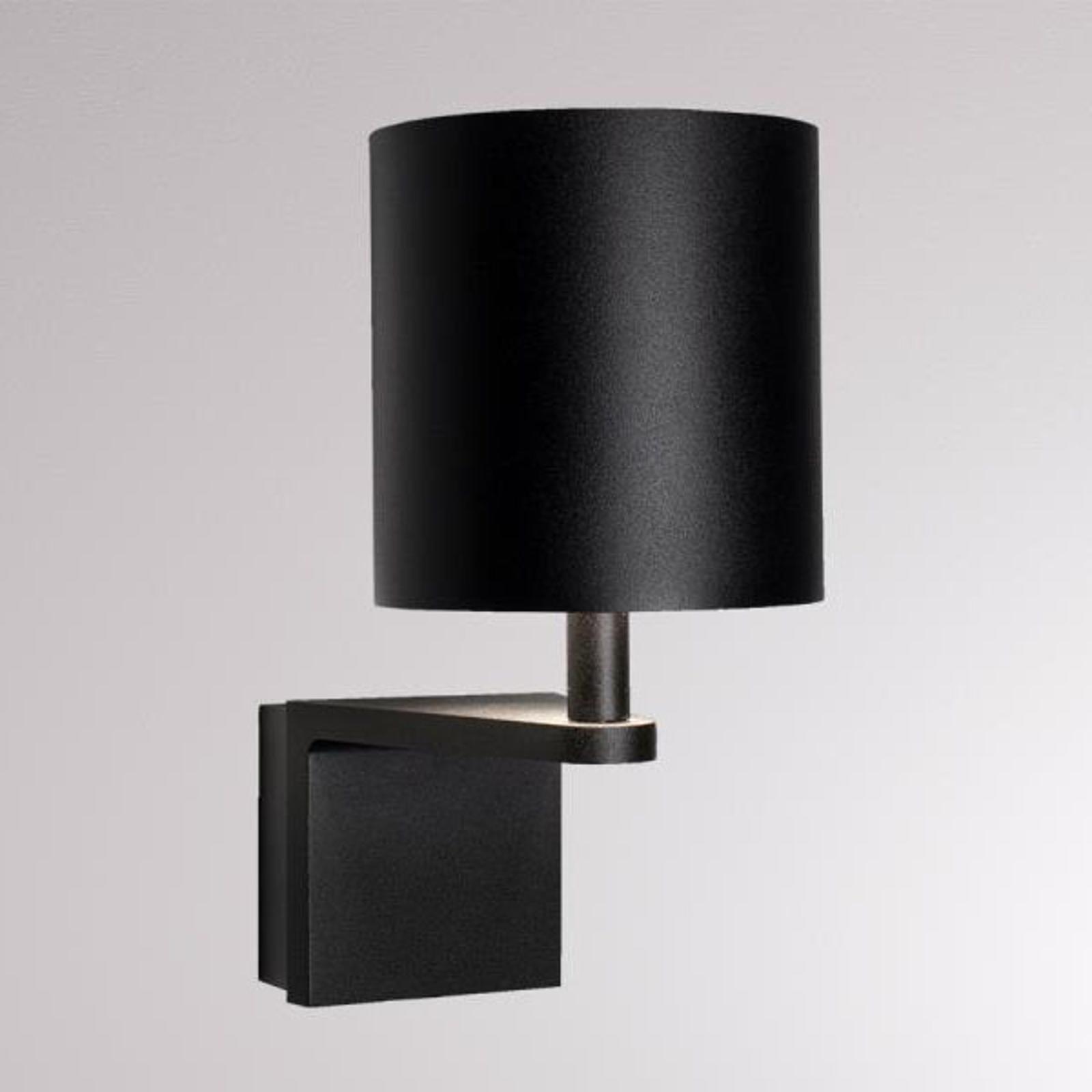 LOUM Waamp LED wandlamp zwart/goud