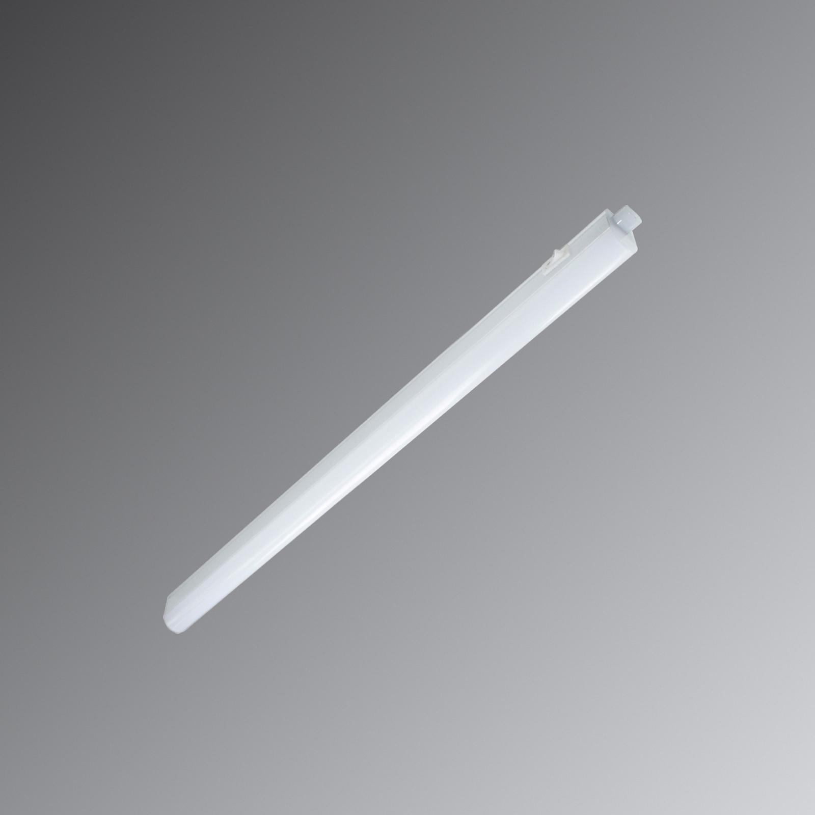 Weiße LED-Lichtleiste Eckenheim mit Schalter