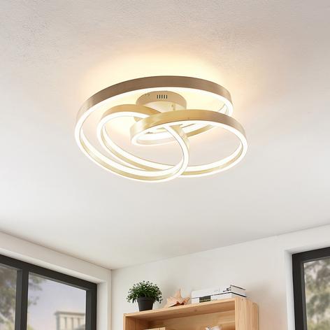 Lucande Gunbritt plafón LED 60 cm