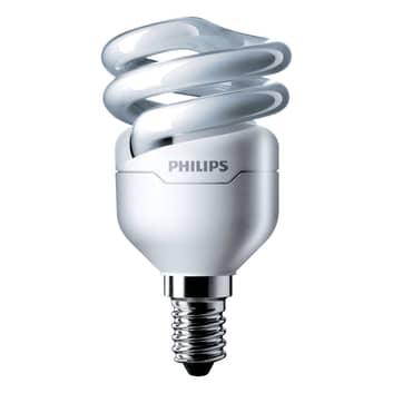 E14 8W 827 Energiesparlampe Tornado Spiralform