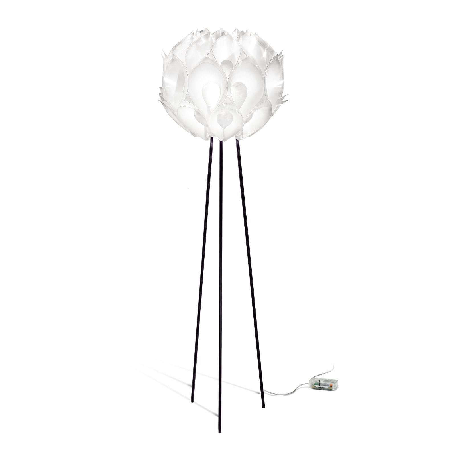 Slamp Flora - designová stojací lampa, bílá