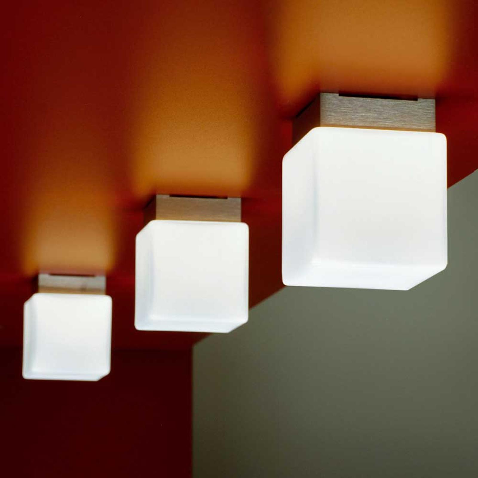 Loftlampen CUBE 8 cm