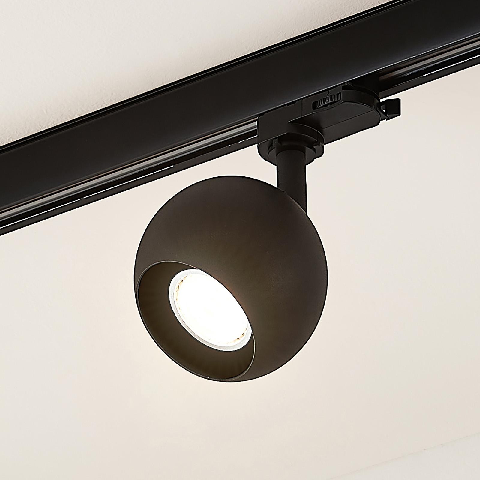 Arcchio Ensar 3-Phasen-Schienenstrahler, schwarz
