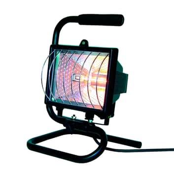 Halogenový stavební reflektor Elro s držadlem