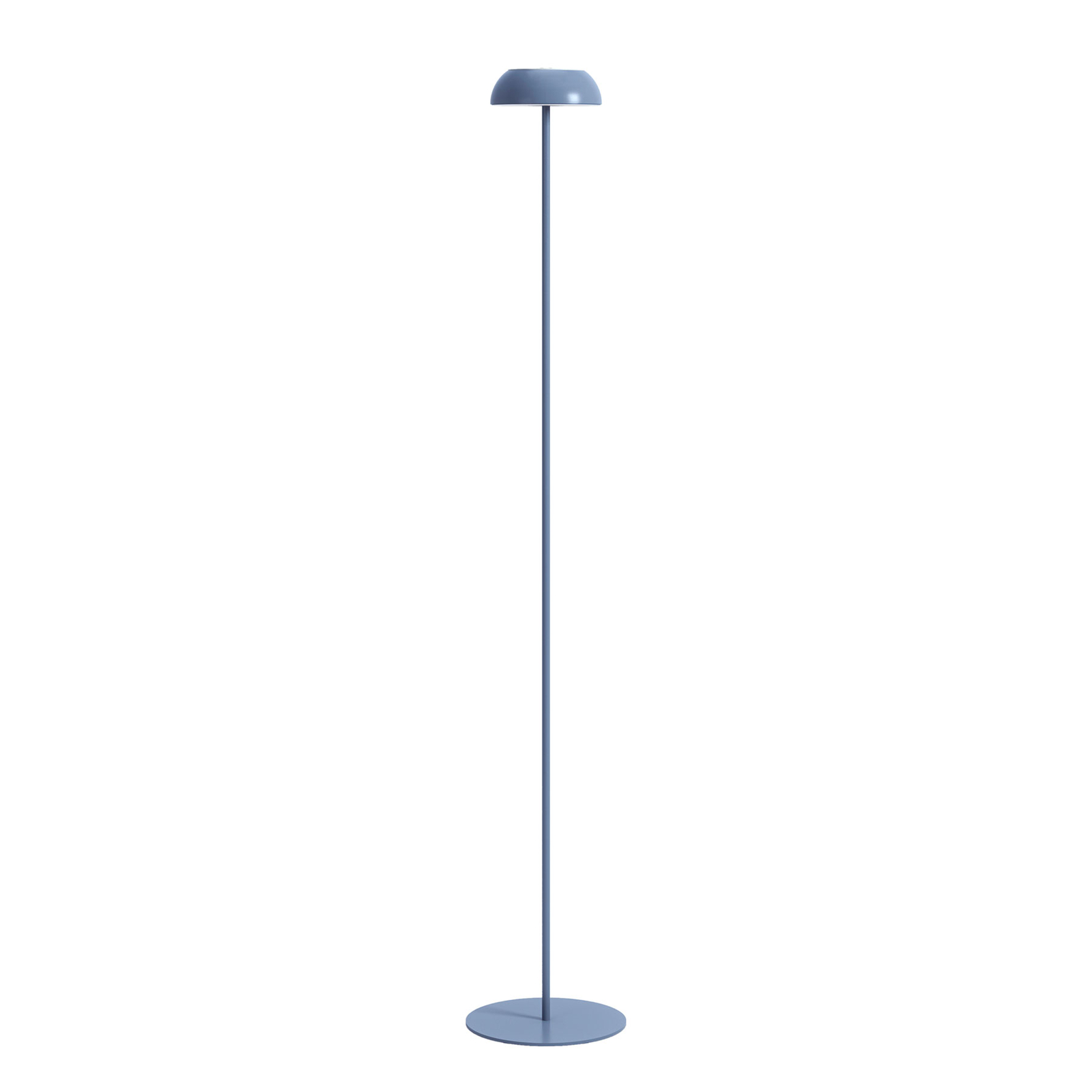 Axolight Float LED-Designer-Stehleuchte, blau
