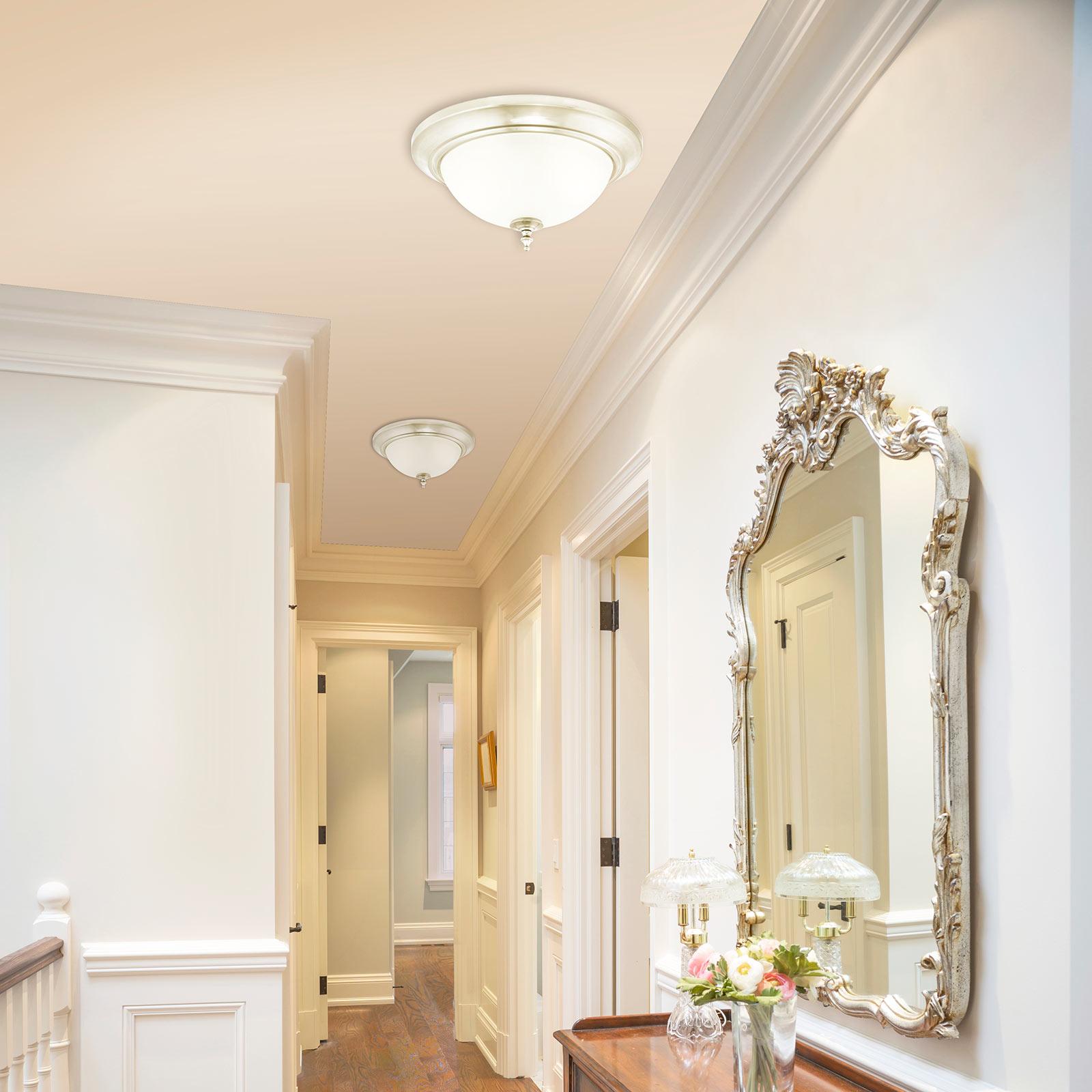 Westinghouse Harwell lampa sufitowa, nikiel