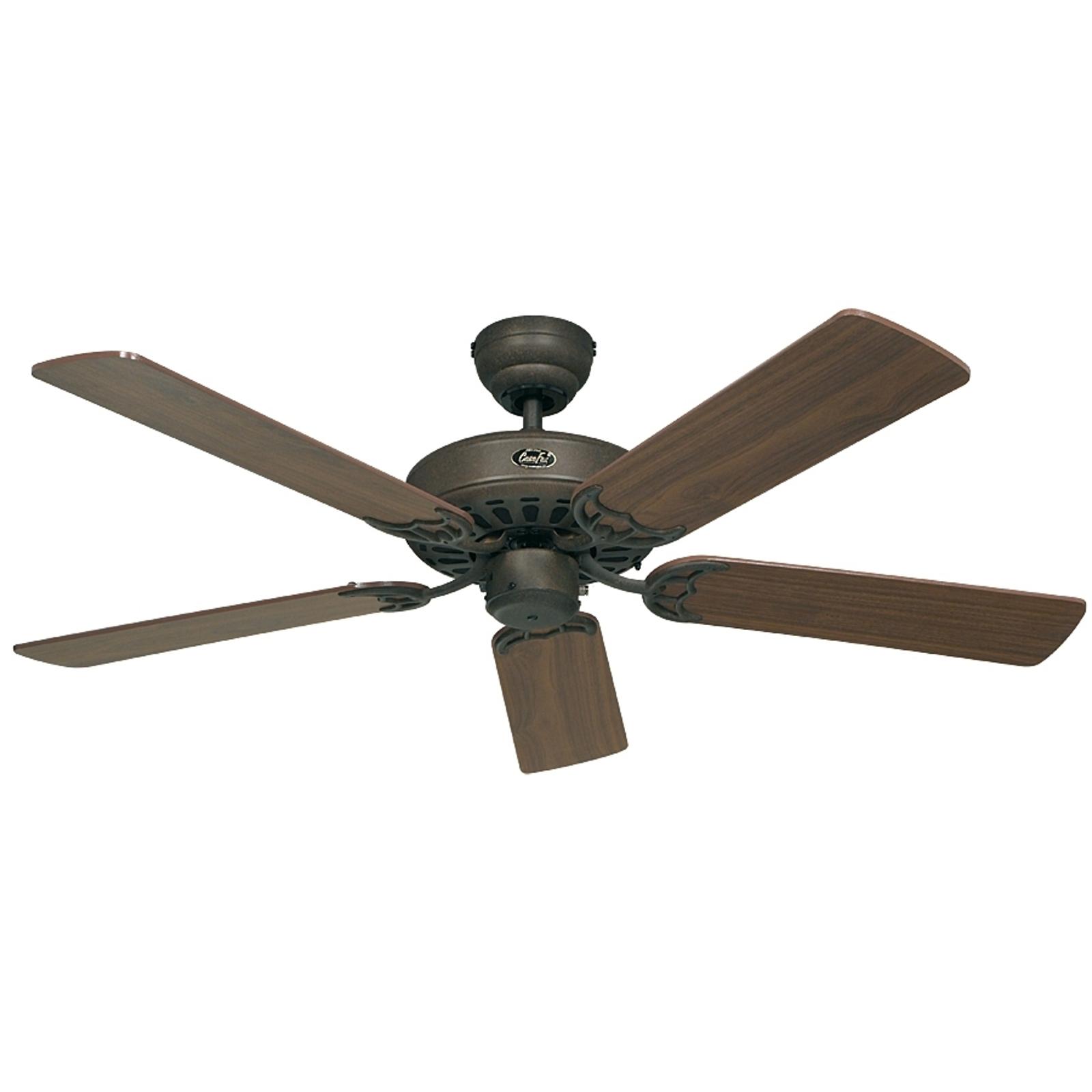 Ventilateur de plafond Classic Royal brun noisette