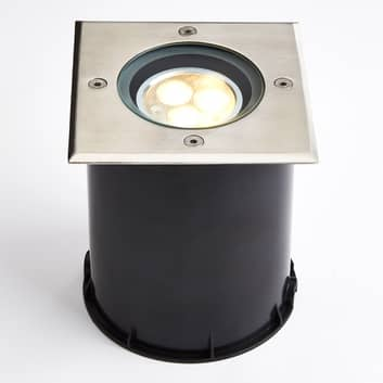 Lampe encastrable LED inclinable, IP67, angulaire