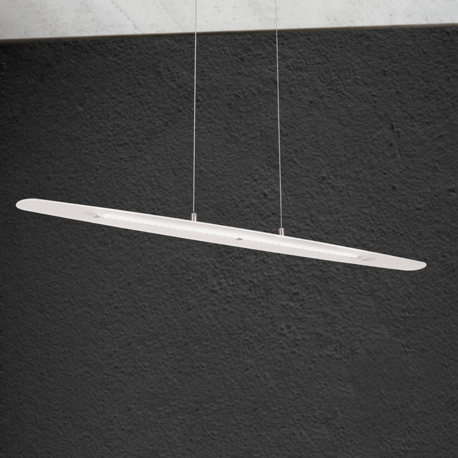 Suspension LED allongée Sabira