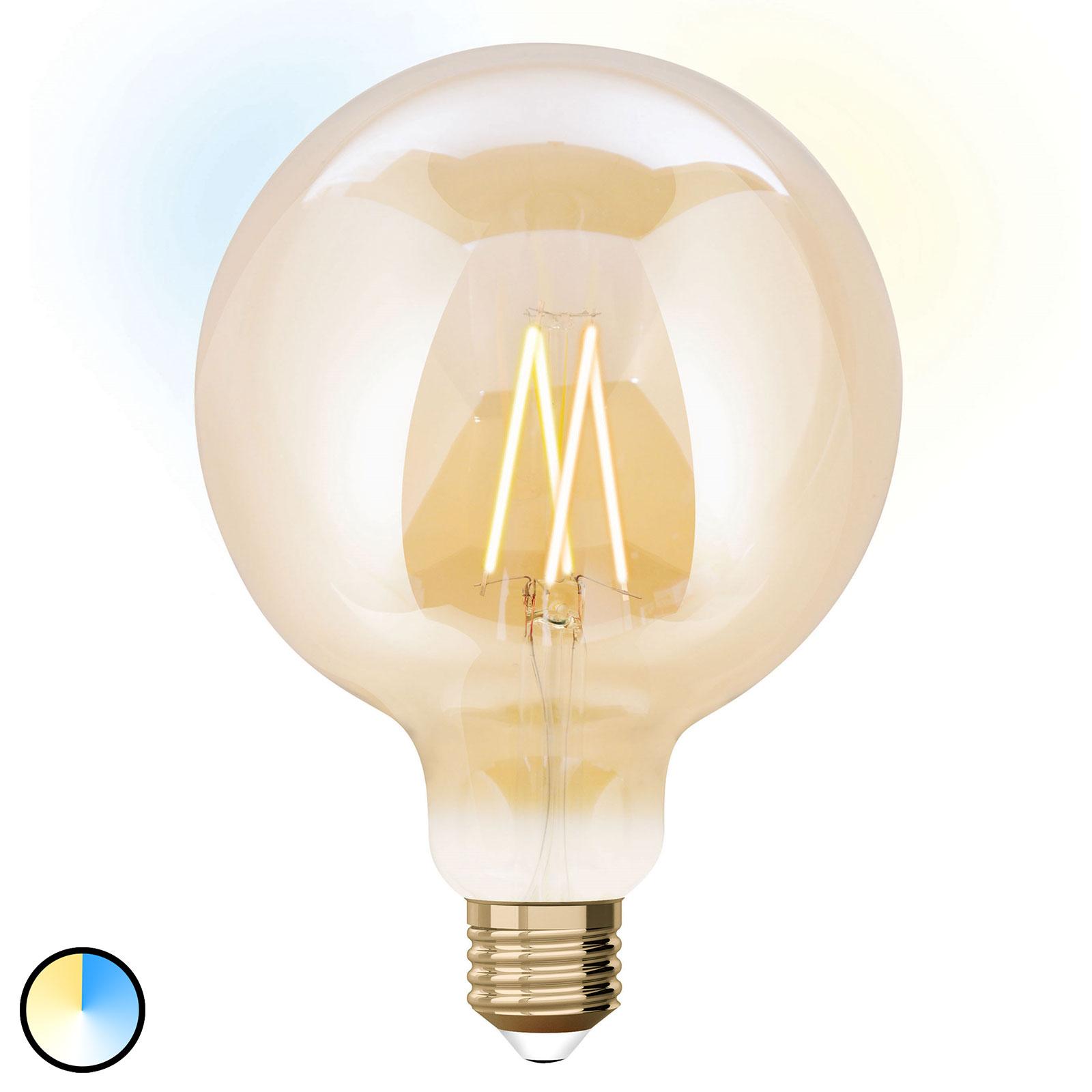 iDual LED žárovka globe E27 9W rozšíření 12,5 cm