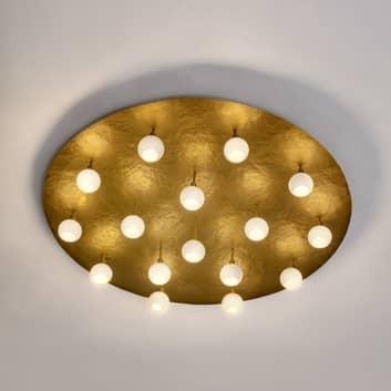 Plafón LED redondo de diseño Lucente 16 luces