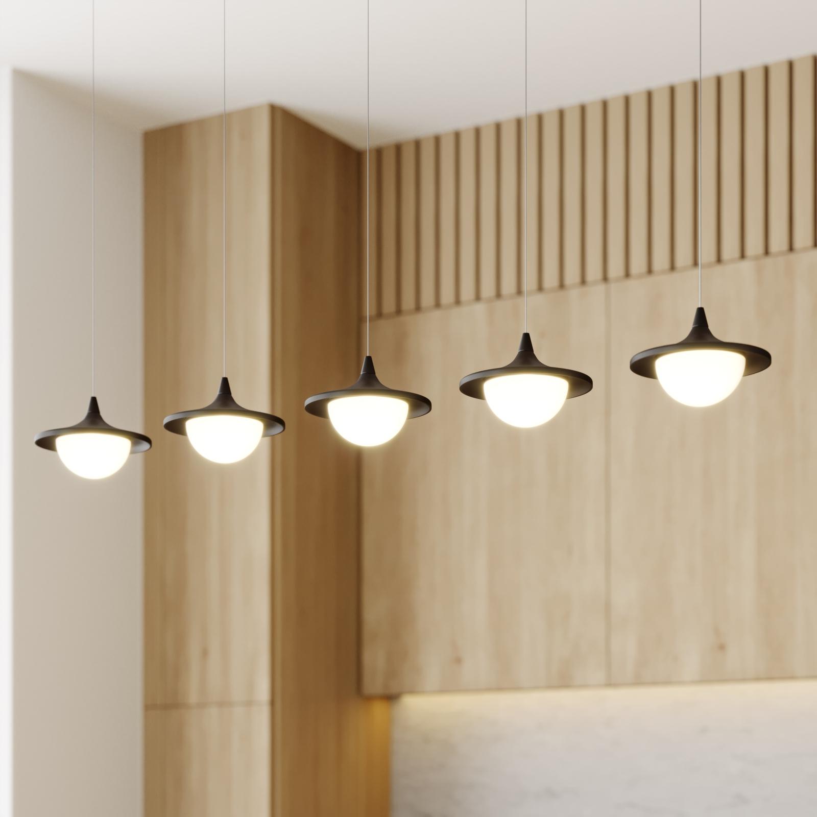 Lucande Tamsi LED-Hängeleuchte, 5-flammig, dimmbar