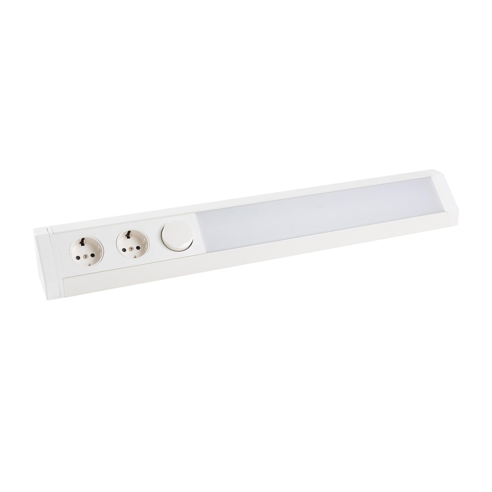 Arcchio Asira LED-benkarmatur, CCT, hvit